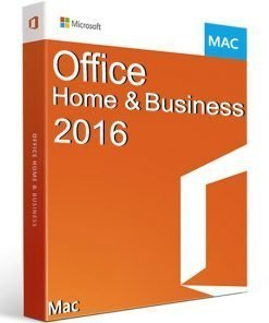 Office Home and Business 2016 Mac